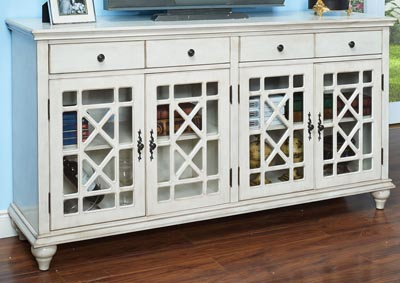 Marceline Gray 2 Door Accent Cabinet
