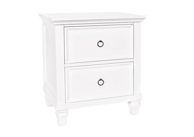 TAMARACK WHITE NIGHTSTAND
