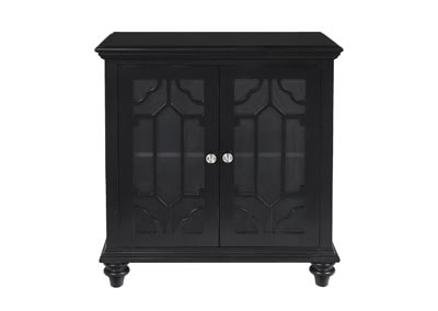 Enzo Black Console Table