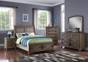 Allegra Pewter Youth Chest