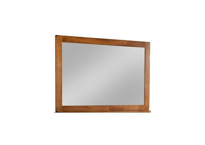 Lewiston Tall Wide Mirror by Daniels Amish,Old Brick