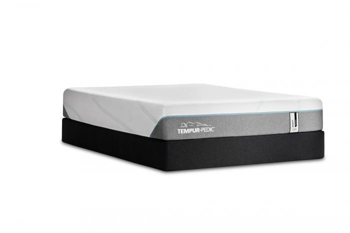 Tempur-Adapt Medium Hybrid Queen Mattress,Old Brick