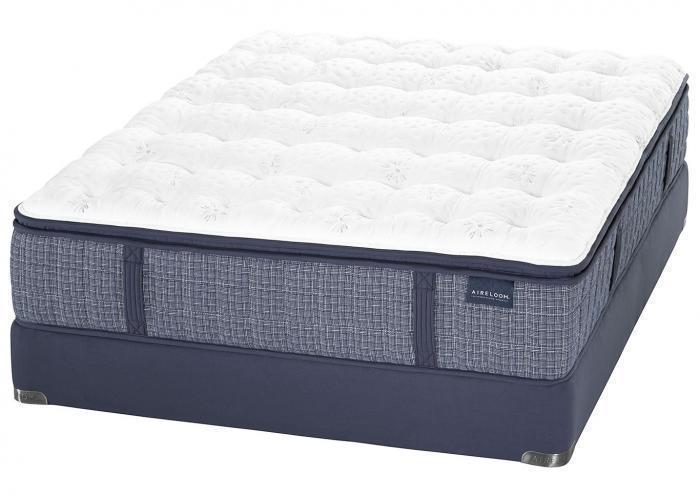 MARIN PLUSH KING MATTRESS BY AIRELOOM,Old Brick