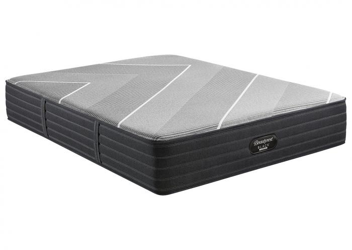 BEAUTYREST BLACK HYBRID X CLASS MEDIUM KING MATTRESS,Old Brick