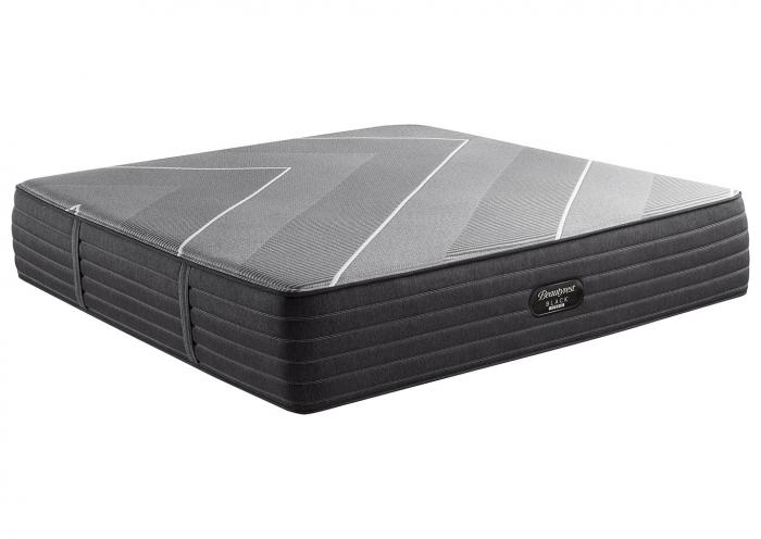 BEAUTYREST BLACK HYBRID X CLASS PLUSH QUEEN MATTRESS,Old Brick