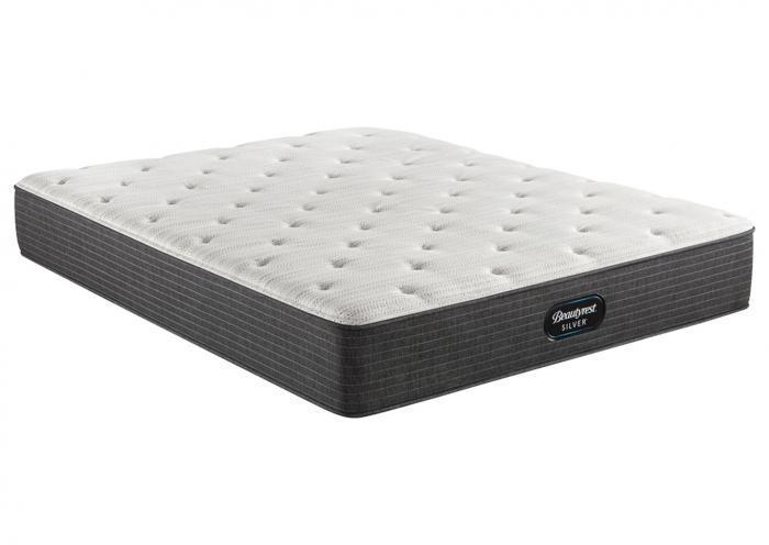 BEAUTYREST SILVER BRS900 MEDIUM FIRM XL TWIN MATTRESS,Old Brick