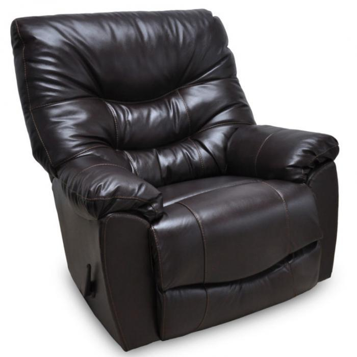 Trilogy Rocker Recliner by Franklin,Old Brick