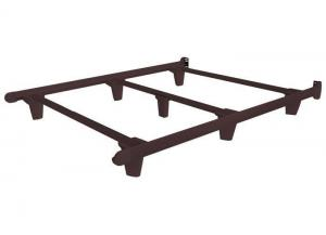 Image for Embrace Bed Frames Twin Espresso Brown Bed Frame