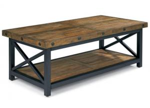 Image for Carpenter Rectangle Cocktail Table w/Exposed Bolt Heads