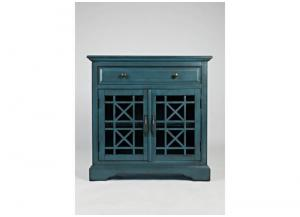 "Image for Craftsman 32"" Antique Blue Accent Chest"