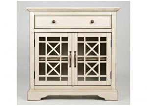 "Image for Craftsman 32"" Antique Cream Accent Chest"