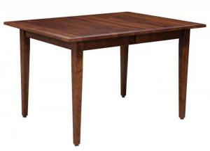 Image for Freeport Solid Cherry Dining Table by Trailway Amish