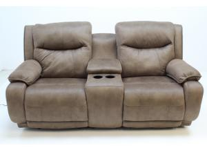 875 Double Power Reclining Console Sofa by Southern Motion
