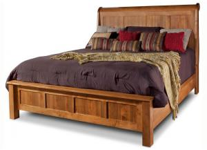 Lewiston King Sleigh Bed by Daniels Amish