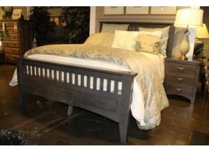 Siesta Mission Solid Maple King Bed by Troyer Ridge
