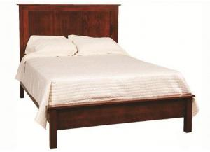 Concord King Panel Bed by Daniels Amish