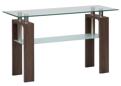 Image for 198 Glass Sofa Table by Jofran