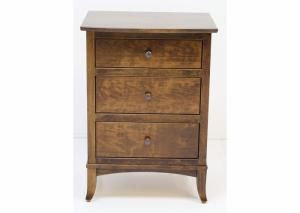 Vineyard Solid Cherry Nightstand by Premier Amish