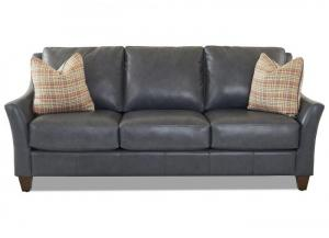 Image for Joanna All Leather Sofa by Klaussner