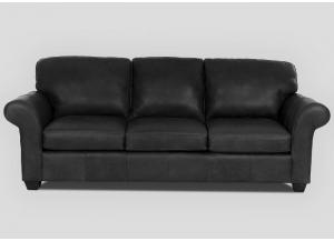 Image for Moorland All Leather Sofa by Klaussner