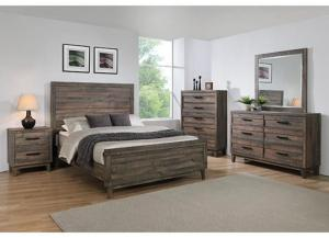 TACOMA QUEEN BED by CME CROWN MARK INC.