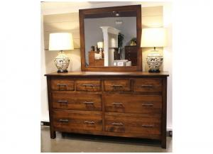 Image for Bryson Solid Maple Mirror by Daniels Amish