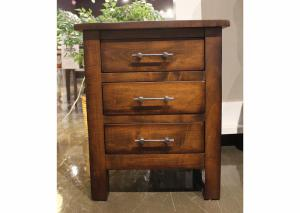 Bryson Solid Maple Nightstand by Daniels Amish