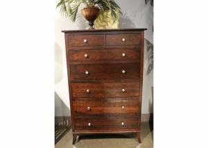 Image for Holmes Solid Cherry Chest by Daniels Amish