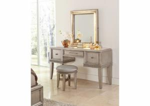 Image for Sophia Vanity and Stool by Klaussner