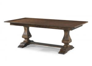 Image for Trisha Yearwood Trestle Dining Table by Klaussner
