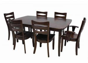Arlington 7pc Solid Maple Dining Set by Trailway Amish