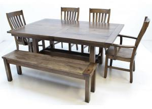 Image for Sutter Mill Dining Table by Trailway Amish