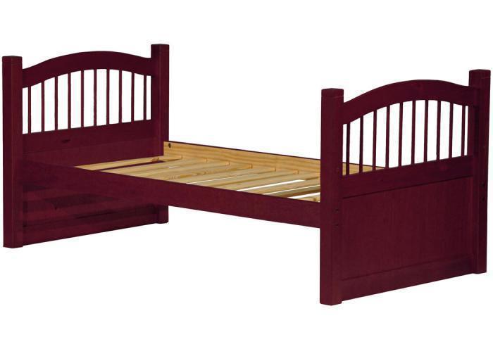 York Twin Captainu0027s Bed, Mahogany,Palace Imports