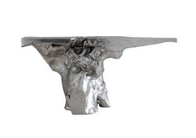 Image for Crown Console, Silver Leaf