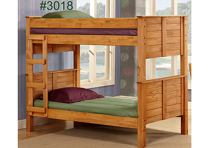 Harold S Discount Furniture Full Full Post Bunk Bed Unfinished