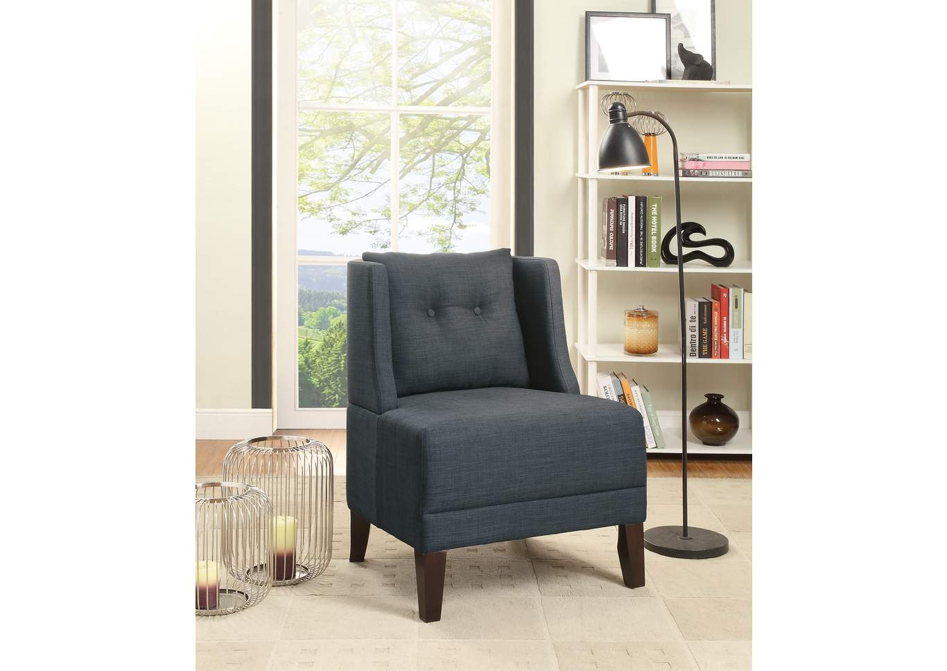 Super Quality Furniture Wa Dark Blue Accent Chair Caraccident5 Cool Chair Designs And Ideas Caraccident5Info