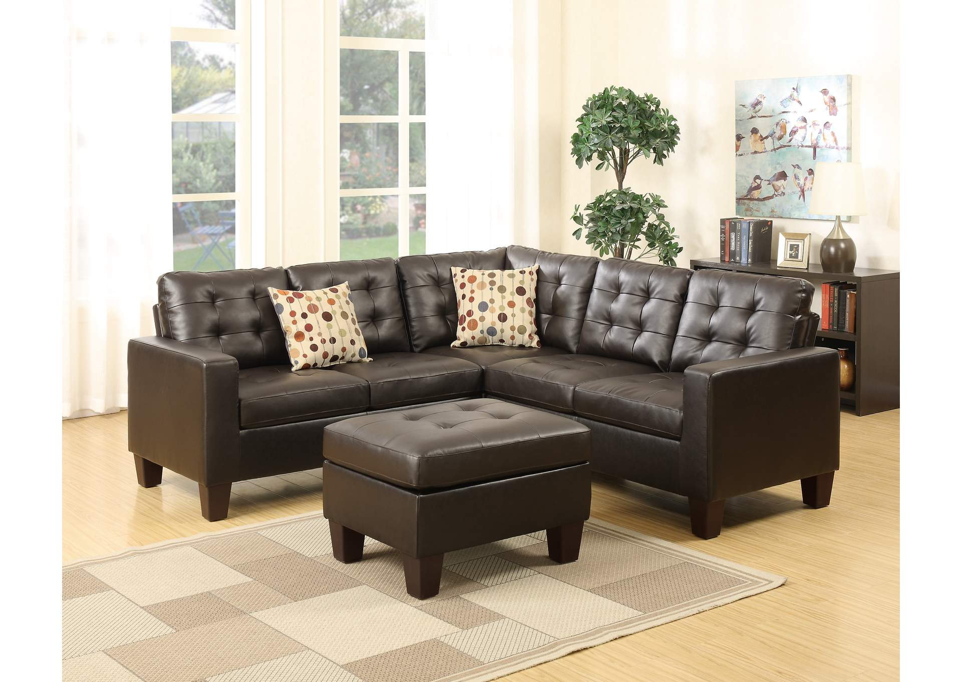 Bayit Furniture Carmine 2 Pc Sectional Sofa