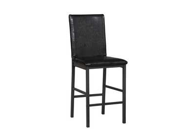 Black Counter Chair (Set of 2)