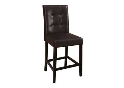 Dark Brown Counter Chair (Set of 2)