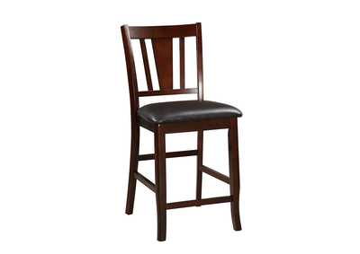 Brown Counter Chair (Set of 2)