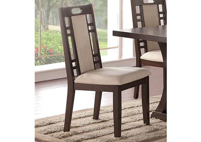 Brown Dining Chair (Set of 2)