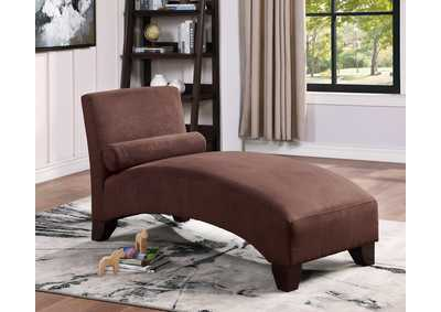 Image for Chocolate Chaise Lounge