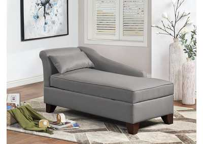 Image for Grey Chaise Lounge