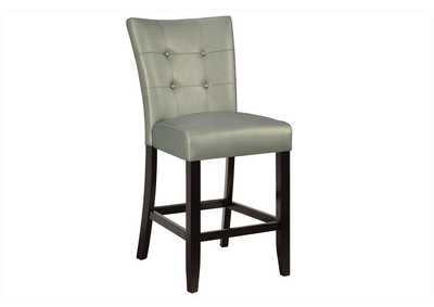Silver Counter Chair (Set of 2)