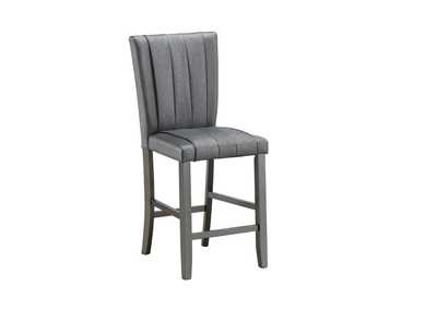 Image for Grey Counter Height Chair