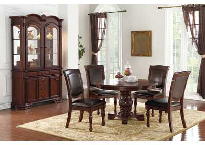 Image for Dark Brown China Cabinet