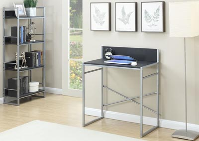 Silver 4-Tier Shelf