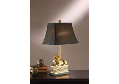 Gold Finished Table Lamp