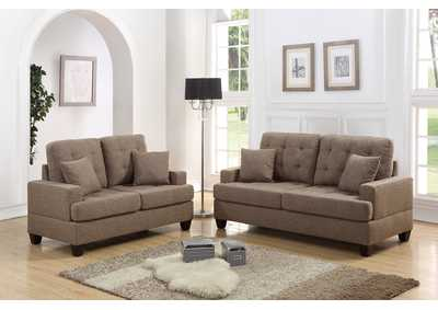 Coffee 2 Piece Sofa Set
