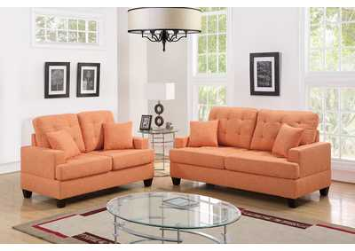 Citrus 2 Piece Sofa Set